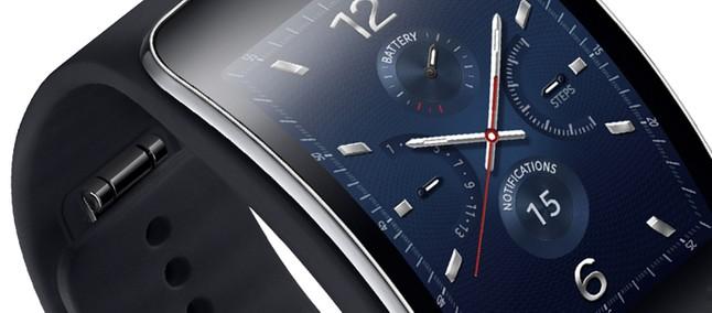 e511b7b8a49 Samsung lança Galaxy Gear S por salgados R  1.499 - Tudocelular.com