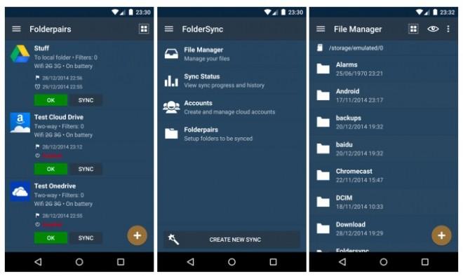 FolderSync: integre seu gerenciador de arquivos às suas