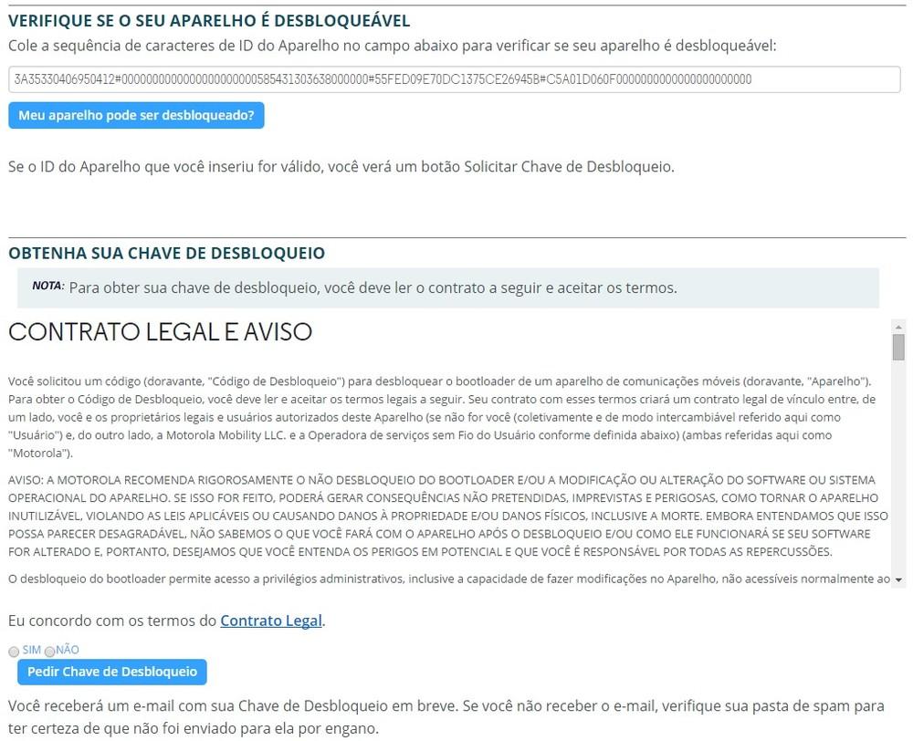 Moto Maxx: desbloqueando o bootloader e liberando o acesso root