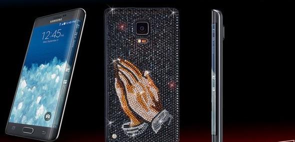 Proteja os olhos e conheça a edição do Galaxy Note Edge com cristais  Swarovski d96c4c6740