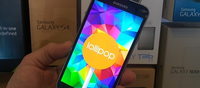 Samsung trabalha no Lollipop 5 0 2 e 5 1 para Galaxy S6