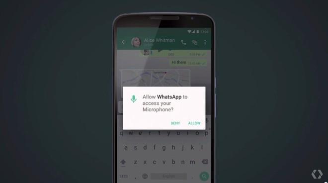 07245209b46 Android M eliminará a lista de permissões exibidas quando um aplicativo  está sendo instalado. Desta forma, as aplicações irão precisar perguntar ao  usuário ...