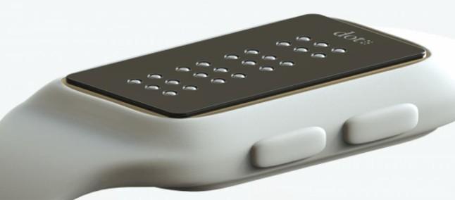 c730cbd3b57 Dot  relógio inteligente com tela em braile será lançado para consumidores  cegos em breve
