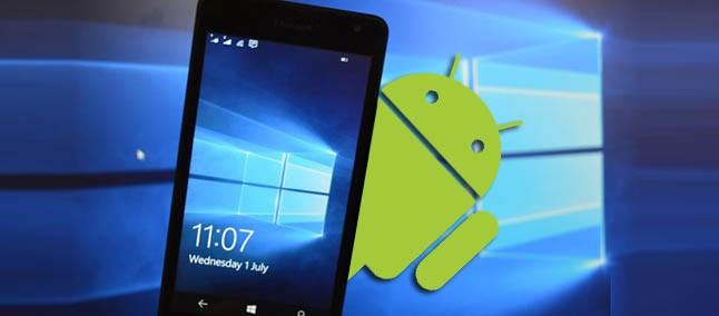 3fb5175a95f37 Saiba como instalar aplicativos Android em smartphones com Windows 10 Mobile
