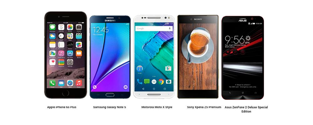 note 5 vs iphone 8 Plus vs xperia z3