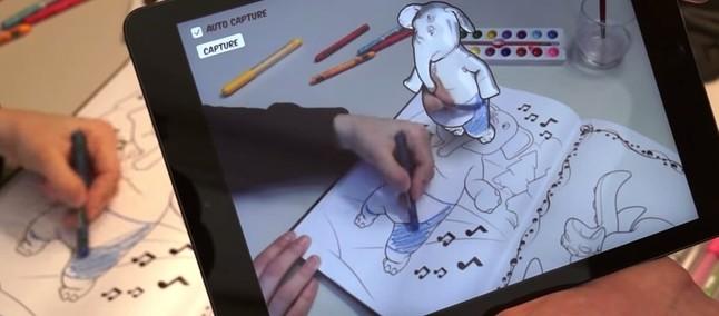 Disney Ganha Destaque Com App Que Traz Livro De Colorir Para