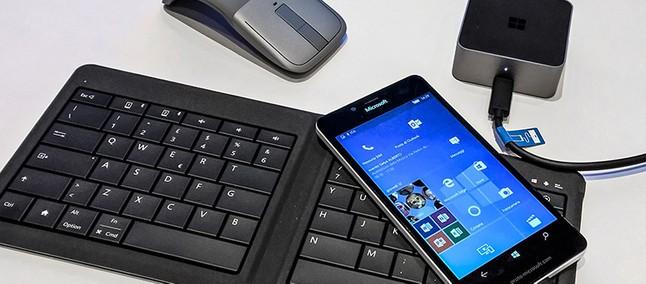 3fb39395f92d4 Conheça os principais atalhos de teclado disponíveis para o Continuum do  Windows 10 Mobile