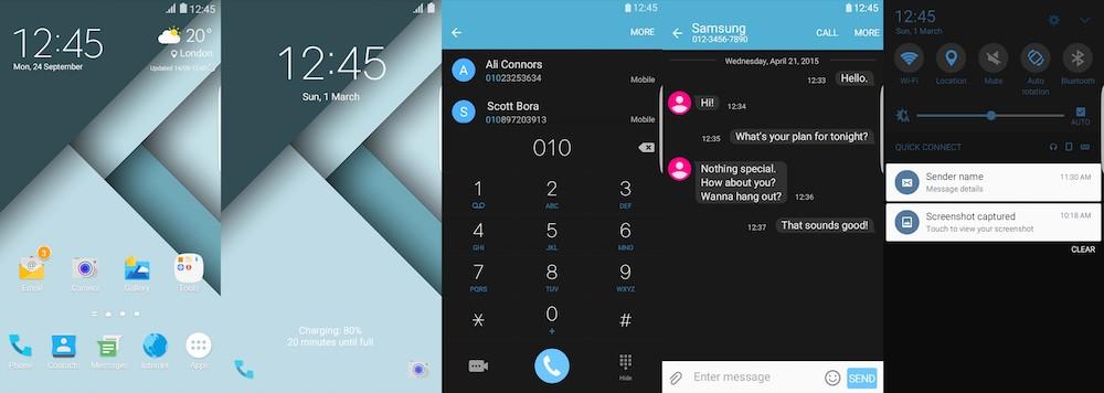 Conheça alguns novos temas adicionados pela Samsung em sua