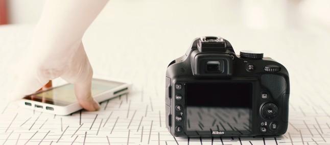 SnapBridge compartilha fotos da câmera Nikon diretamente com