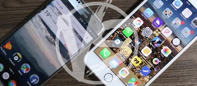 Comparativo: Galaxy S7 Edge Vs IPhone 6s Plus