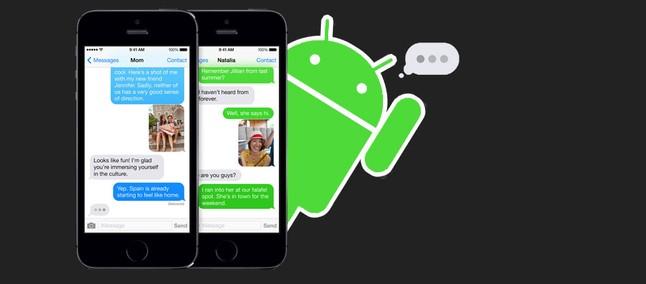 Há uma razão pela qual a Apple oferece aos usuários do Android uma bolha verde no iMessage