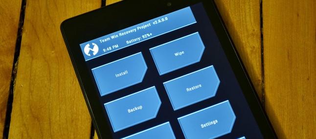 Recuperação TWRP para Android chega a mais aparelhos