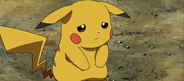 Resultado de imagem para Pikachu chorando