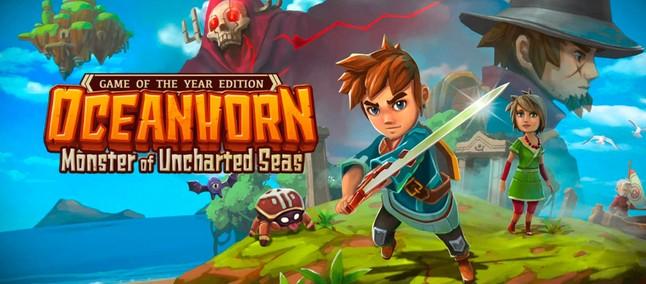 Jogo Inspirado Em Zelda Oceanhorn Desembarca Na Google