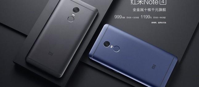 Xiaomi Redmi Note 4 Wallpaper: Xiaomi Redmi Note 4 Em Preto E Azul Perdem Exclusividade