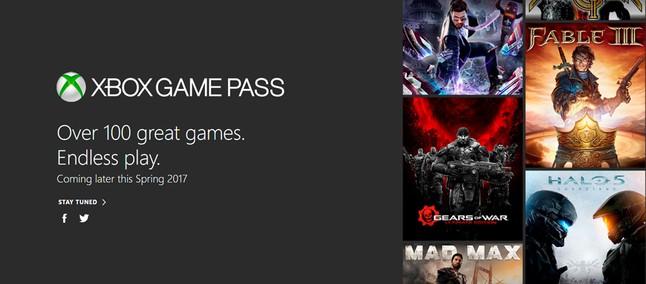 Microsoft anuncia Xbox Game Pass, serviço com 100 jogos de Xbox One a US   10 por mês f7c17d173d
