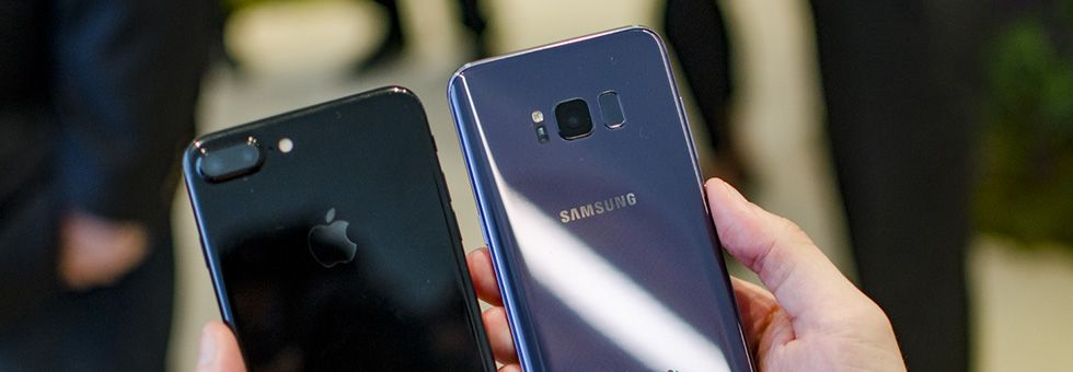 s8 vs iphone 7 Plus vs xperia z3