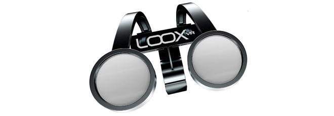 f28be094f1473 Esse dispositivo da Loox conta com design completamente diferente do que  geralmente vemos em óculos para realidade virtual, sendo este um ponto que  ...