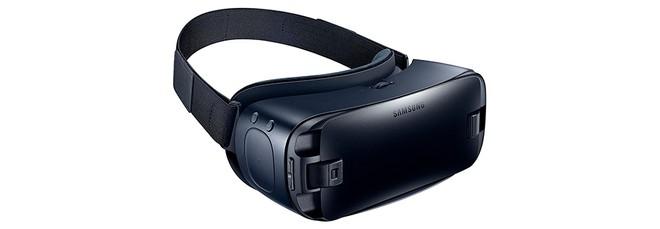 dcc6bdd9ea747 A versão mais recente do Gear VR disponível até o momento em solo brasileiro  possui design mais arrojado que a anterior, além de melhor ergonomia para  se ...
