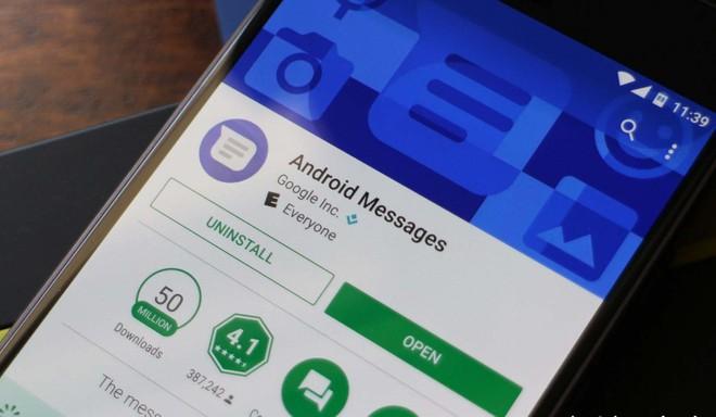 Desistiu? Google remove modo noturno do Android Mensagens