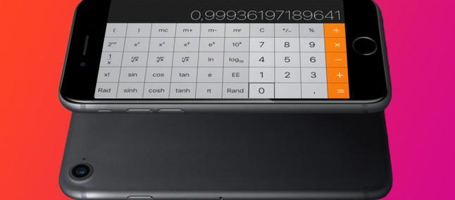 Você conhecia  Recurso da calculadora do iPhone causa alvoroço ... 250d08a320