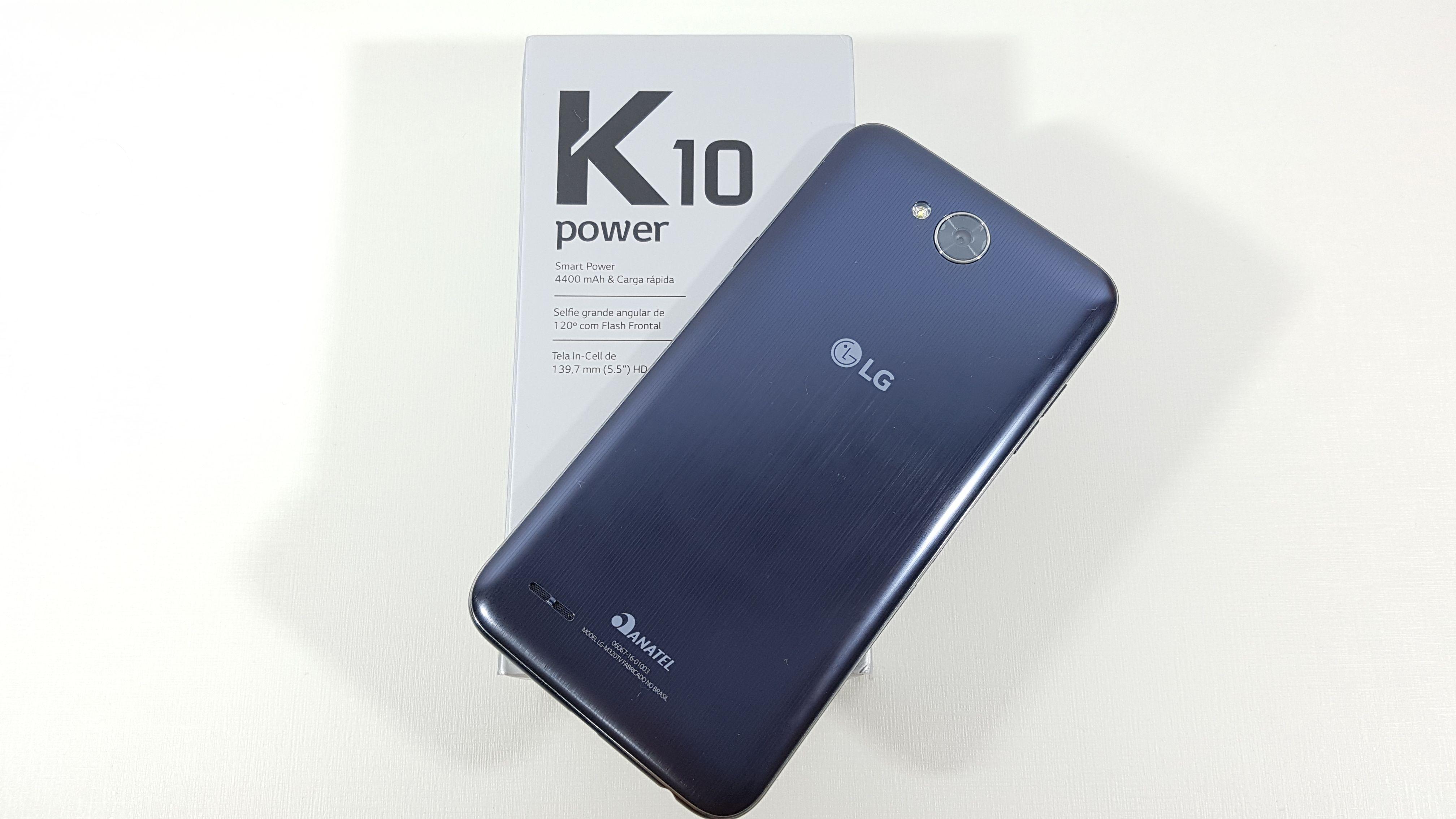 A LG decidiu lançar o X Power 2 como K10 Power no Brasil para pegar carona  no grande sucesso que o K10 original fez no último ano. a5ae1848e6