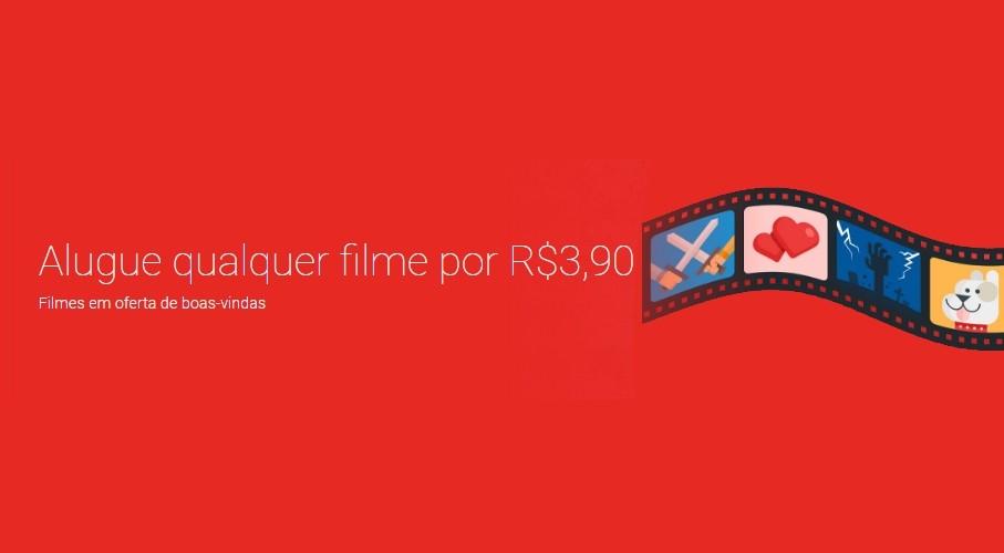 53db32c9c3 Vai um cinema em casa  Oferta da Google Play deixa alugar filmes por ...