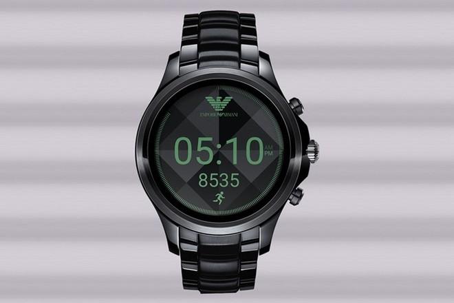 b4f595d314f Emporio Armani anuncia novo relógio inteligente com Android Wear 2.0 ...
