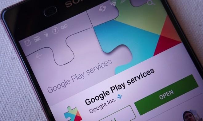 106c254487 O Google Play Services é usado para atualizar apps do Google e apps do  Google Play. Este componente fornece funcionalidades essenciais