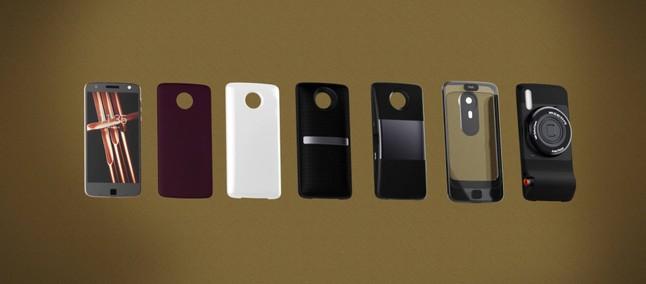 14b71b0b92947 Moto Mods  primeiro render do speaker Alexa e da impressora Polaroid é  divulgado
