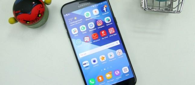 Update natalino! Galaxy A3 (2017) e A7 (2017) recebem patch