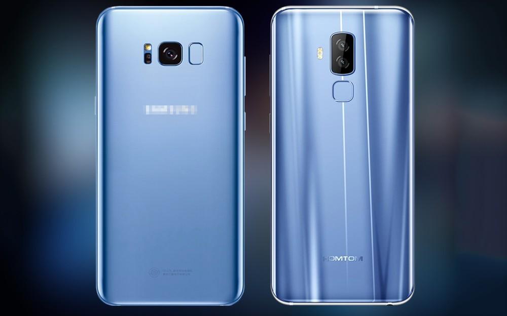 7d1f6fb0d22 Homtom S8  smartphone chinês não esconde sua forte inspiração no ...