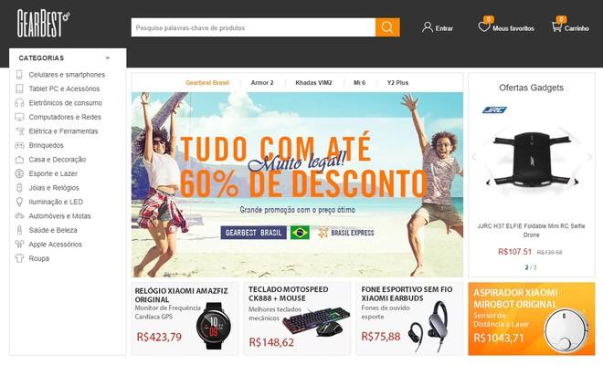 GearBest lança site em português com diversas promoções para os ... 6aef76545662c