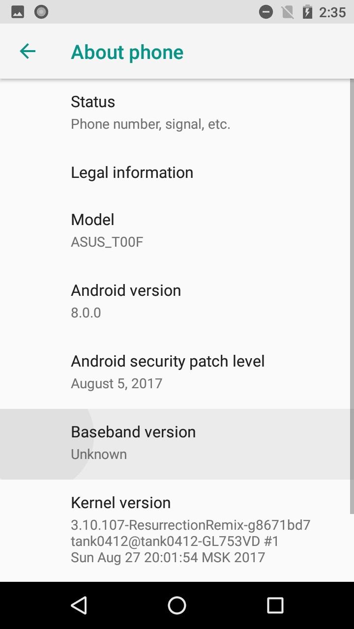 Zenfone 5 ganha android oreo de forma no oficial atravs de nova compilao alpha do oreo para o zenfone 5 j pode ser baixada no xda developers ccuart Gallery