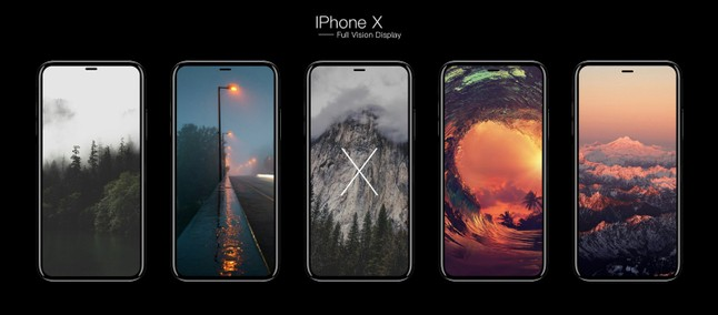 20d6408d2 Bonita tela! iPhone X é exibido mais de perto nas mãos de alguns ...
