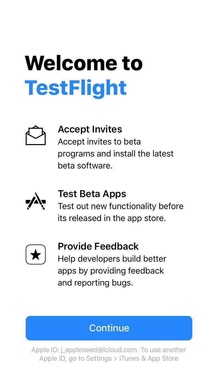 Apple libera Testflight 2 0 para o iOS