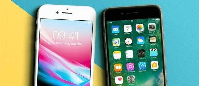 bfe7d225e Vale a troca  iPhone 8 Plus enfrenta o iPhone 7 Plus neste comparativo de  câmeras
