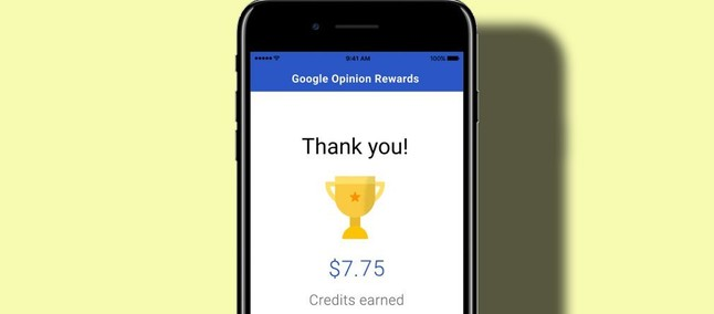 google opinion rewards iphone 5