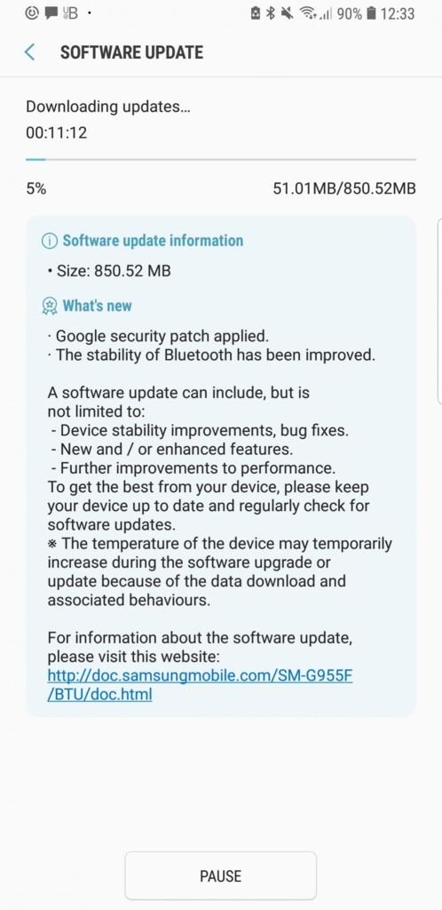 Android Oreo Beta 4! Samsung libera nova compilação do SO para linha