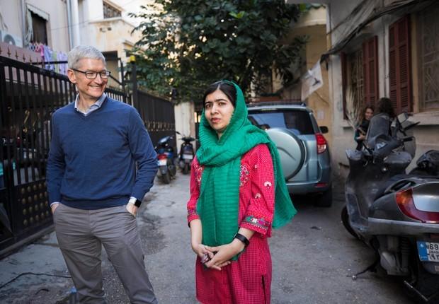 Apple anuncia financiamento de projeto social de vencedora