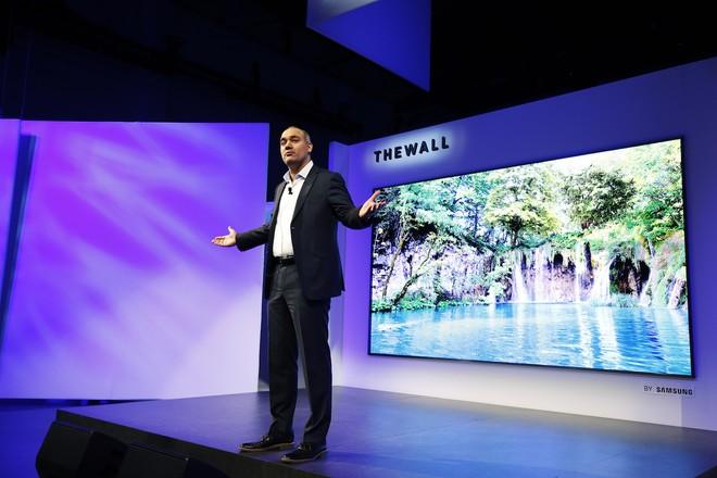 Patentes da Samsung apontam projetos de 'TV tamanho família' e 'TV gigante'