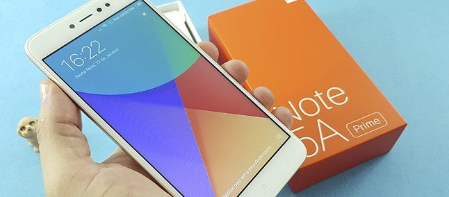 Unboxing E Primeiras Impressões Do Xiaomi Redmi Note 4: Redmi Note 5A Prime: Unboxing E Primeiras Impressões
