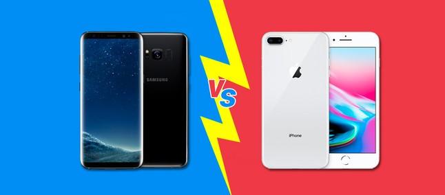 7d6268a41dc Samsung Galaxy S8 Plus ou Apple iPhone 8 Plus? Comparativo TudoCelular  ajuda a escolher