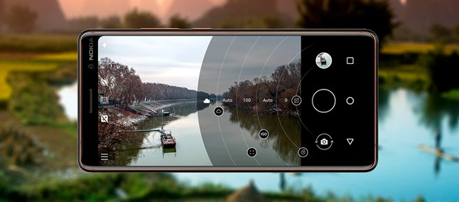 New Nokia camera with pro mode inherited from Lumia has