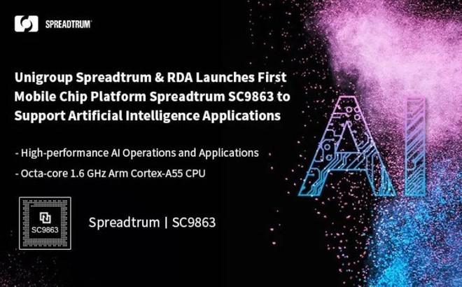Primeiro processador somente com núcleos Cortex-A55 é