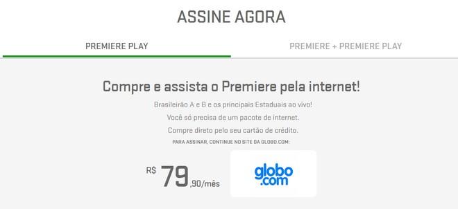 a5f0b12eb5 Globo começa a vender canais Premiere pela internet por preço menor ...