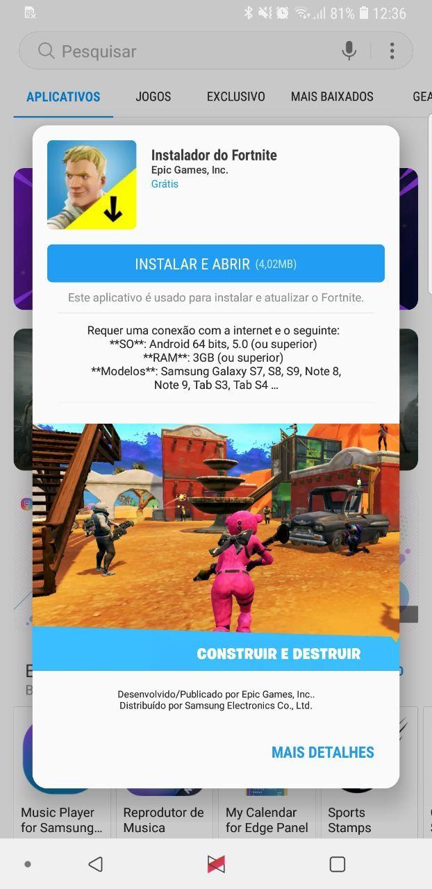 instalador de jogos para celular samsung