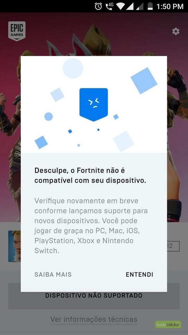 Baixe agora! Fortnite para Android tem APK liberado, com um porém