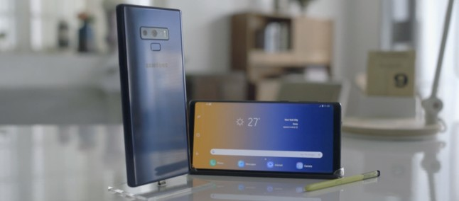 What a shame! Samsung creates a promotional tweet of Galaxy Note 9 using iPhone