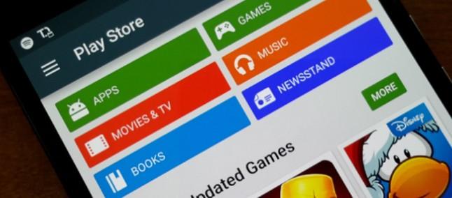 Google Play Store começa a receber mudança na tela de